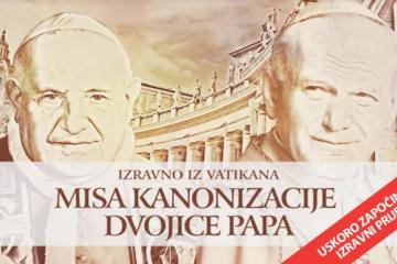 Na današnji dan 2014. papa Ivan Pavao II. i Ivan XXIII. proglašeni svetima