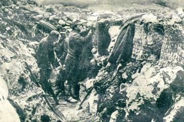 24. listopada 1917. Kobarid (Soča) – jedna od najvažnijih bitaka I. svjetskog rata