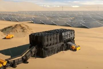 Kontejner koji električnu energiju i pijesak pretvara u solarne ploče