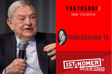 Financira li Soros 'organizacije za provjeru činjenica' u Hrvatskoj, BiH i Srbiji?