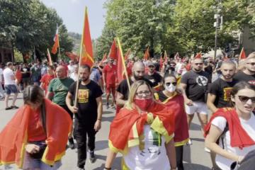 [VIDEO] Tisuće Crnogoraca na ulicama Cetinja: Nećemo dozvoliti ustoličenje mitropolita, to je pristanak na okupaciju