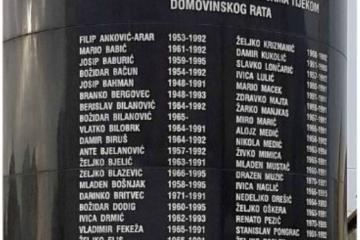 Polaganje vijenaca poginulim braniteljima Dubrave