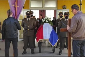 FOTO: U Lovasu pokopan Tomislav Balić, hrvatski branitelj ekshumiran prije nekoliko dana