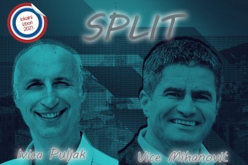 Prvi neslužbeni rezultati DIP-a: Ivica Puljak uvjerljivo vodi nad Vicom Mihanovićem, Kerum je na trećem mjestu