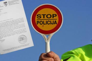 Policija sve alkotestira, ali piše i kazne za nevezanje na stražnjim sjedalima, nepropisni prijevoz djece…