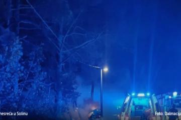 Dobre vijesti iz bolnice: Petorica maloljetnika ozlijeđena u prometnoj nesreći u Solinu nisu životno ugroženi