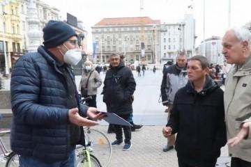 Snimili smo incident na Tomaševićevom štandu: 'Kaj je vama? Da nama Srbin bude gradonačelnik?!'