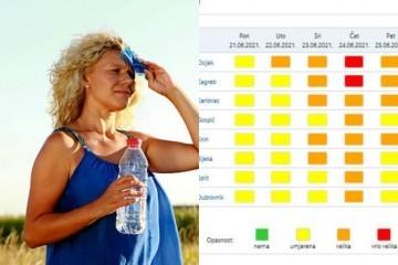 Danas toplinski val: Zbog opasnosti po život i zdravlje oglasili su se CZ i Vatrogasci