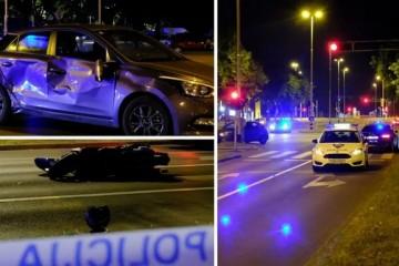 NOVA SMRT NA CESTAMA Strašna nesreća u Travnom: Motociklist poginuo u sudaru