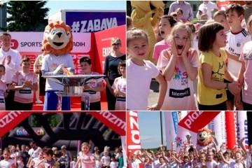 FOTO U Đurđevcu svečano otvorene Sportske igre mladih, stotine osnovnoškolaca preplavile đurđevački stadion