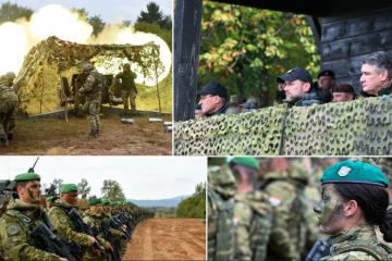 'OVO JE DOMOVINA, NJU BRANITE!' Milanović zagrmio na vojnom poligonu u Slunju! 'Vi ste prije svega, hrvatska vojska!'
