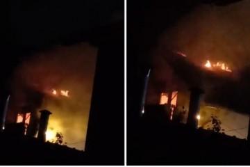 NEVRIJEME U ZAGREBU Zbog udara munje planula je obiteljska kuća u Brestju, vatra je ugašena u brzoj intervenciji