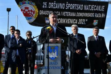 Milanović otvorio 25. državno sportsko natjecanje dragovoljaca i veterana
