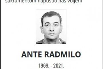 Ante Radmilo - Hrvatski branitelj 1969. - 2021.