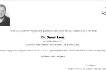 Damir Lenz - Hrvatski branitelj 1955. - 2021.