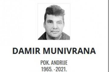 Damir Munivrana - Hrvatski branitelj 1965. - 2021.