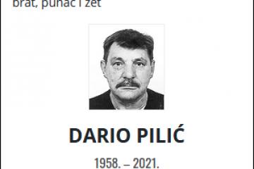 Dario Pilić - Hrvatski branitelj 1958. - 2021.