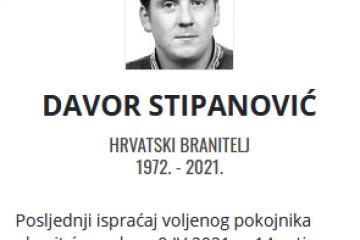 Davor Stipanović - Hrvatski branitelj 1972. - 2021.