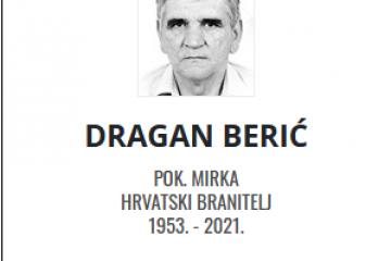 Dragan Berić - Hrvatski branitelj 1953. - 2021.