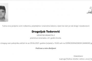 Dragoljub Todorović - Hrvatski branitelj 1960. - 2021.