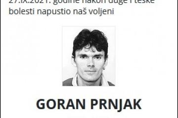 Goran Prnjak - Hrvatski branitelj 1974. - 2021.