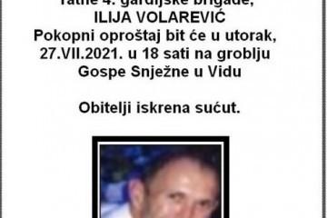 Ilija Volarević - Hrvatski branitelj 1964. - 2021.