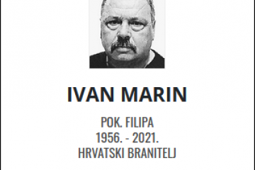 Ivan Marin - Hrvatski branitelj 1956. - 2021.