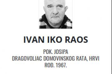 Ivan Raos - Hrvatski dragovoljac 1967. - 2021.