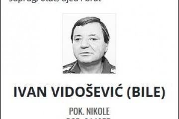 Ivan Vidošević - Hrvatski branitelj 1955. - 2021.