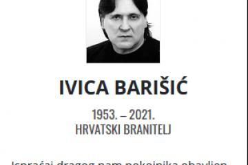 Ivica Barišić - Hrvatski branitelj 1953. - 2021.