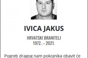 Ivica Jakus - Hrvatski branitelj 1972. - 2021.