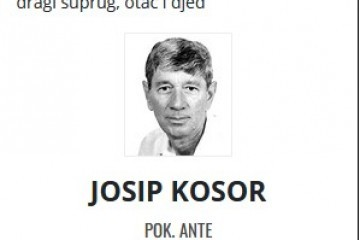 Josip Kosor - Hrvatski branitelj 1947. - 2021.