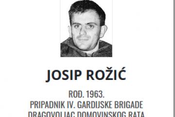 Josip Rožić - Hrvatski dragovoljac 1963. - 2021.