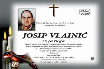 Josip Vlainić - Hrvatski branitelj 1958. - 2021.