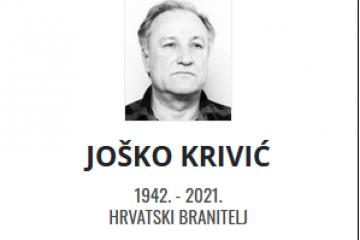 Joško Krivić - Hrvatski branitelj 1942. - 2021.