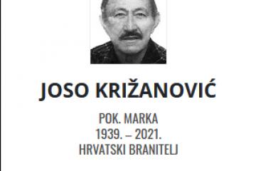 Joso Križanović - Hrvatski branitelj 1939. - 2021.