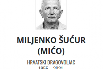 Miljenko Šućur - Hrvatski dragovoljac 1955. - 2021.