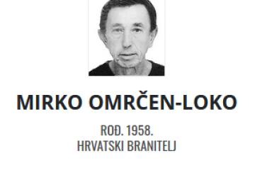Mirko Omrčen - Hrvatski branitelj 1958. - 2021.