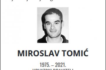 Miroslav Tomić - Hrvatski branitelj 1975. - 2021.