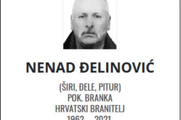 Nenad Đelinović - Hrvatski branitelj 1962. - 2021.