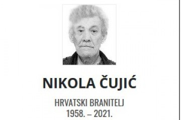 Nikola Čujić - Hrvatski branitelj 1958. - 2021.