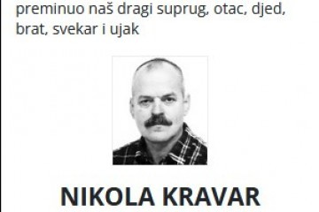 Nikola Kravar - Hrvatski branitelj  1958. - 2021.