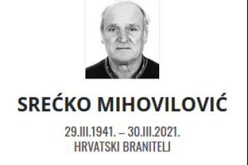 Srećko Mihovilović - Hrvatski branitelj 1941. - 2021.