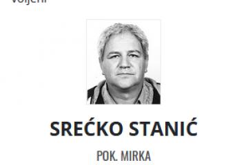 Srećko Stanić - Hrvatski branitelj 1963. - 2021.