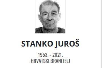 Stanko Juroš - Hrvatski branitelj 1953. - 2021.