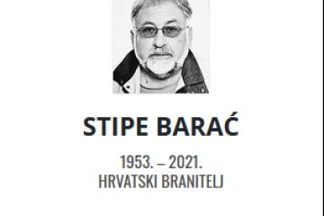 Stipe Barać - Hrvatski branitelj 1953. - 2021.