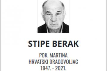Stipe Berak - Hrvatski dragovoljac 1947. - 2021.
