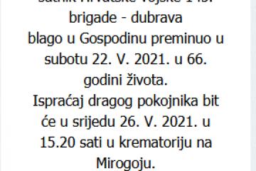 Tugomir Juričev - Hrvatski branitelj 1955. - 2021.