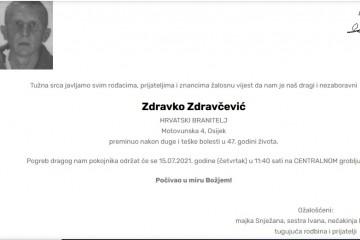 Zdravko Zdravčević - Hrvatski branitelj 1974. - 2021.