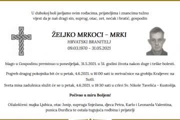 Željko Mrkoci - Hrvatski branitelj 1970. - 2021.